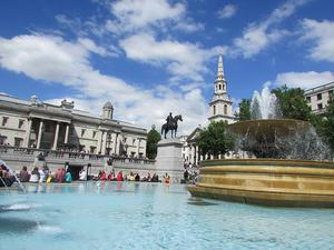 Getting to Trafalgar Square